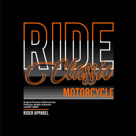 ride classic motorcycle rider apparel vintage