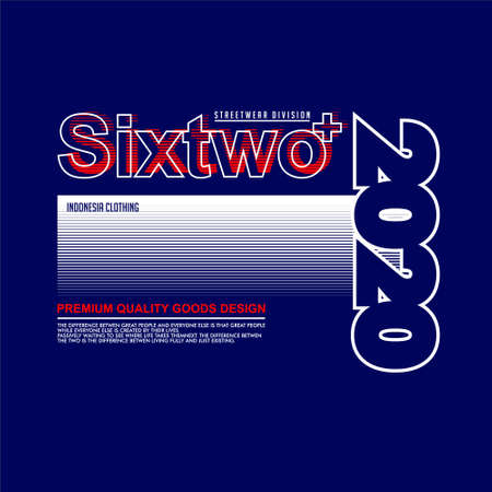 sixtwo streetwear division 2020 indonesia clothing