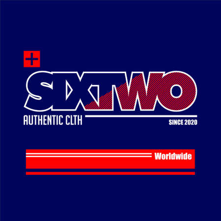 sixtwo authentic clth since 2020 worldwide