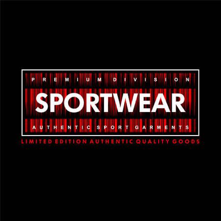 sportwear premium division authentic sport garment vintage