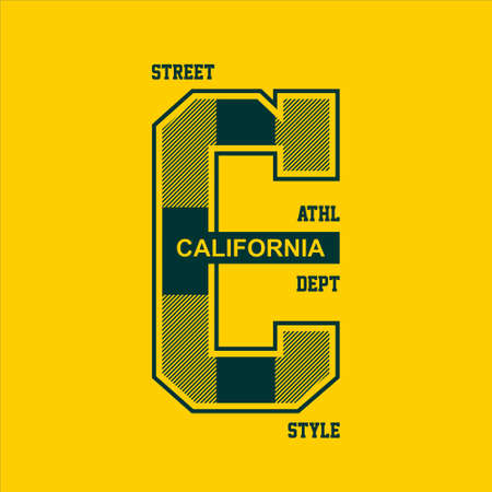 street style california athletic dept vintage