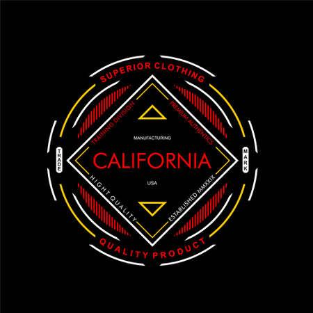superior clothing california vintage design