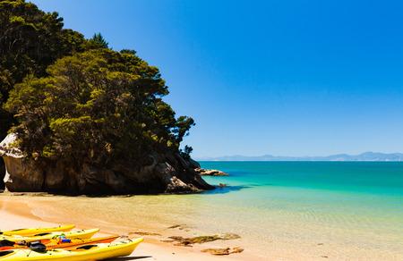 tasman: Kayaking at Abel Tasman National Park