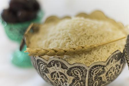 santa cena: iftar arroz y el trigo