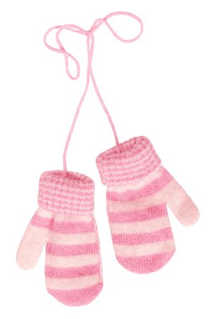 mitten: baby`s mittens Stock Photo