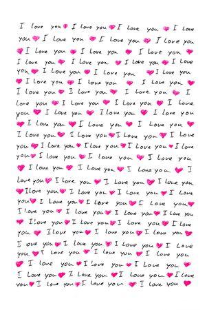 te negro: carta de amor escrita a mano