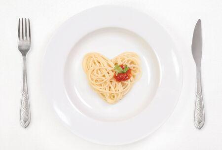 I love Spaghetti! Stok Fotoğraf