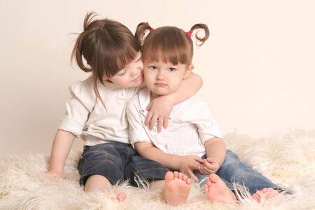 Childrens Friendship Stok Fotoğraf