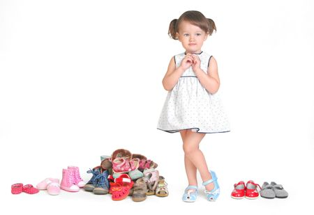 how many shoes needs child