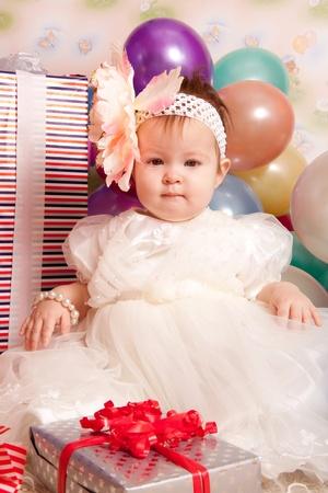 playcentre: Happy birthday baby Stock Photo