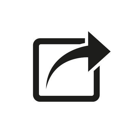 Vector illustration of share icon design. Isolated.