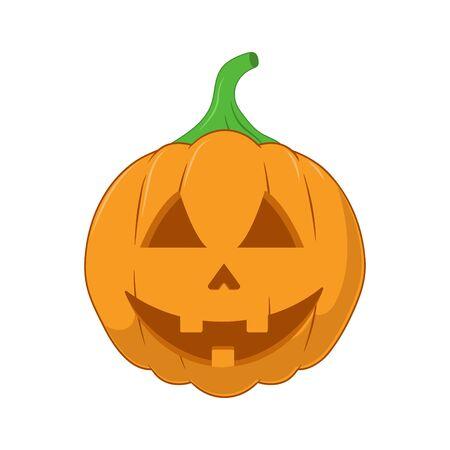 Vector illustration of Halloween Pumpkin. Cartoon style. Illusztráció