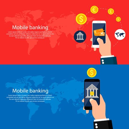 mobile banking: Mobile banking and mobile payment.