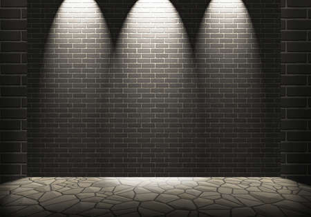 structured: Clean brick background