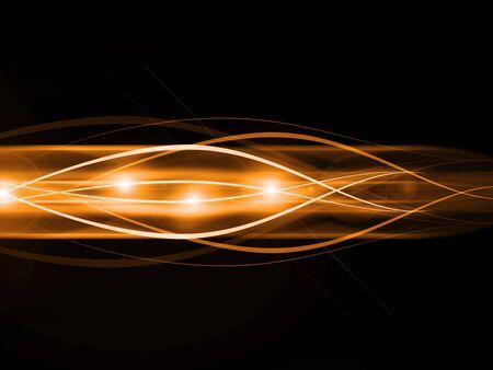 emitter: gold vector background