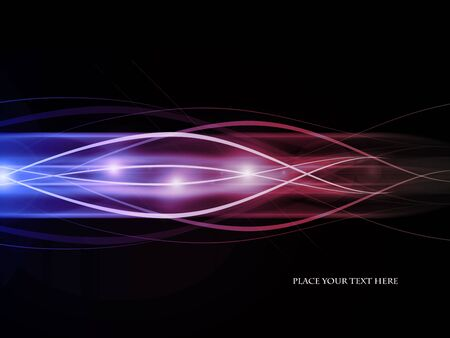 emitter: colored vector background