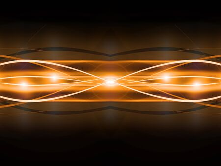 emitter: abstract golden vector background