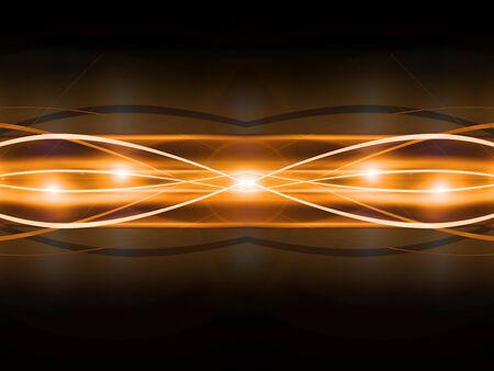 emitter: abstract golden vector background