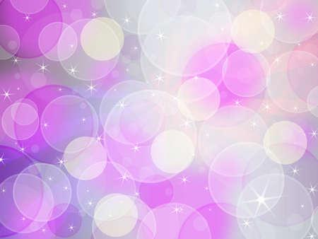 pink festive background bokeh