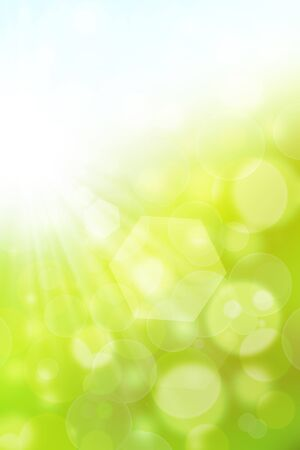 background sunny summer  Stock Photo - 15068333