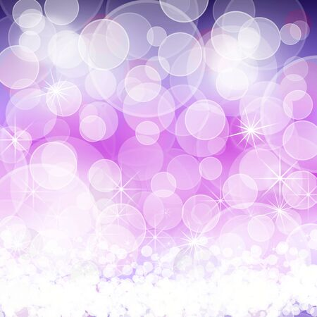 spotted ray: cheerful purple background bokeh
