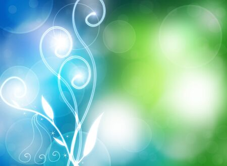 cheerful natural colorful background, bokeh photo