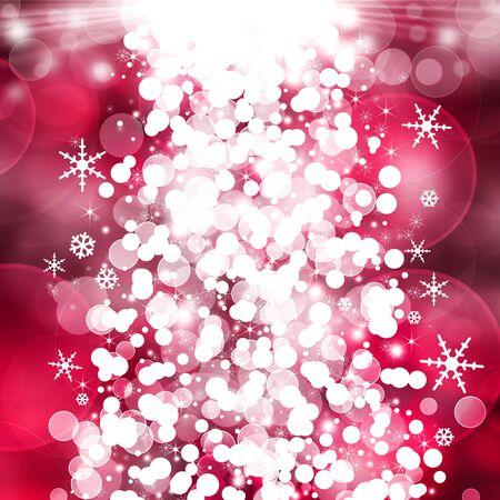 distinguish: Red Christmas background Stock Photo