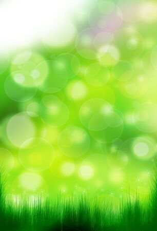 bright summer background Stock Photo - 15646200