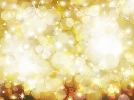 golden Abstract holiday background photo