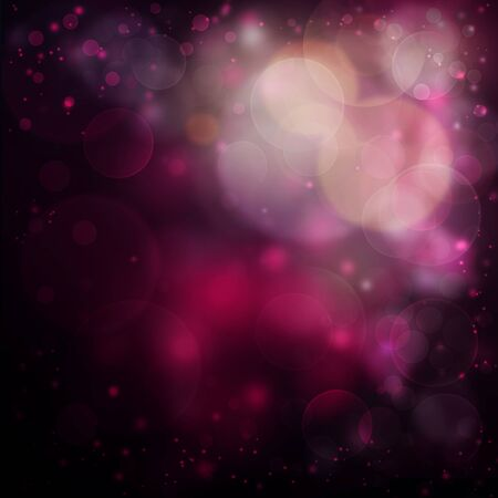 romantic pink  bokeh background Stock Photo