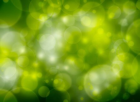 beautiful spring natural bubble background Stock Photo - 17284396
