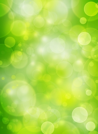 bubble sheet:  spring natural bubble background Stock Photo