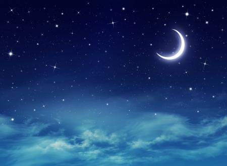 Cielo notturno con le stelle Archivio Fotografico - 19278658