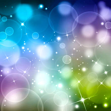 colored abstract  background bokeh
