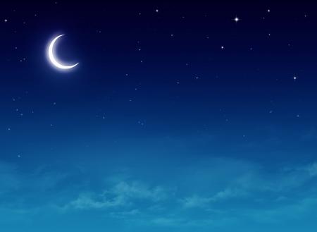 Nightly sky  Stock Photo
