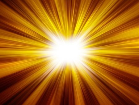 irradiate: abstract background of sunshine