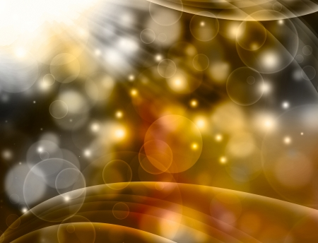 entertainment: golden beautiful abstract  background Stock Photo