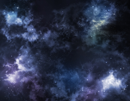 starry sky deep outer space Stock Photo - 20961720