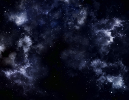 starry sky deep outer space