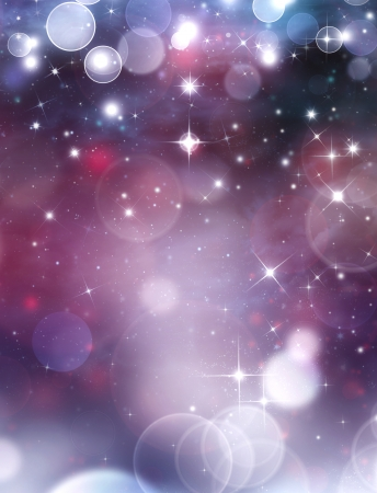 beautiful festive background with stars
