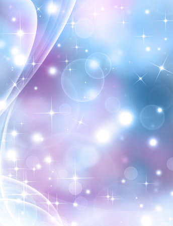 generated: Glittery festive background with stars