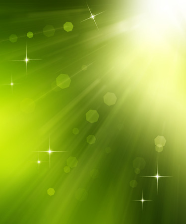 elegant festive abstract background with rays and stars