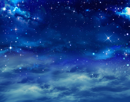 starlit: beautiful background of the night sky with stars