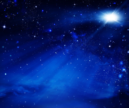 elegant abstract background of the night sky