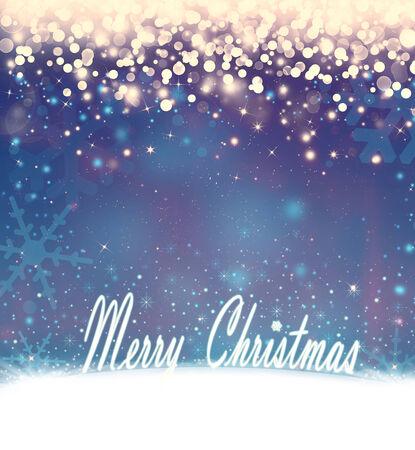 beautiful Christmas background bokeh photo