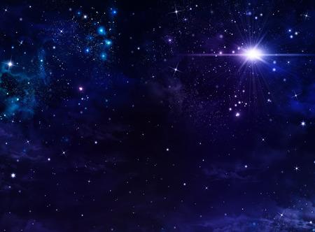 별이 빛나는 배경