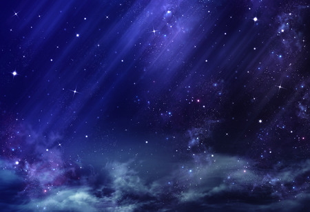sky: night sky, background