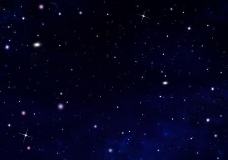 オープン スペースでの星空 写真素材