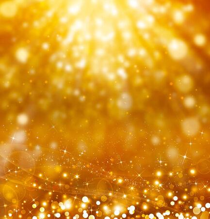 Glittery golden festive background photo