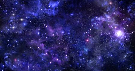 밤 하늘의 배경